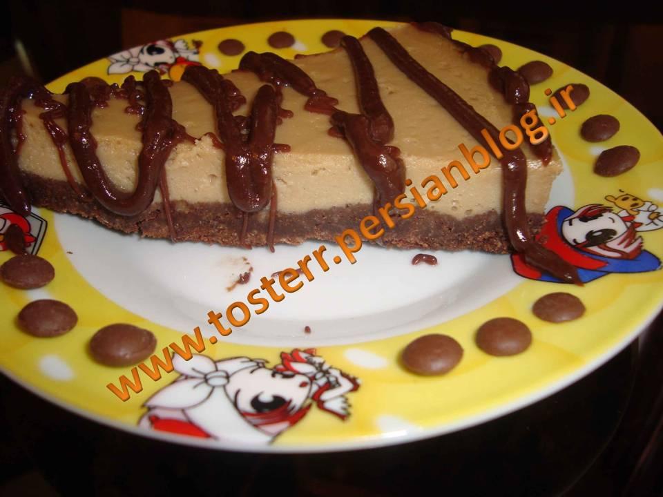 چیز کیک موکا
